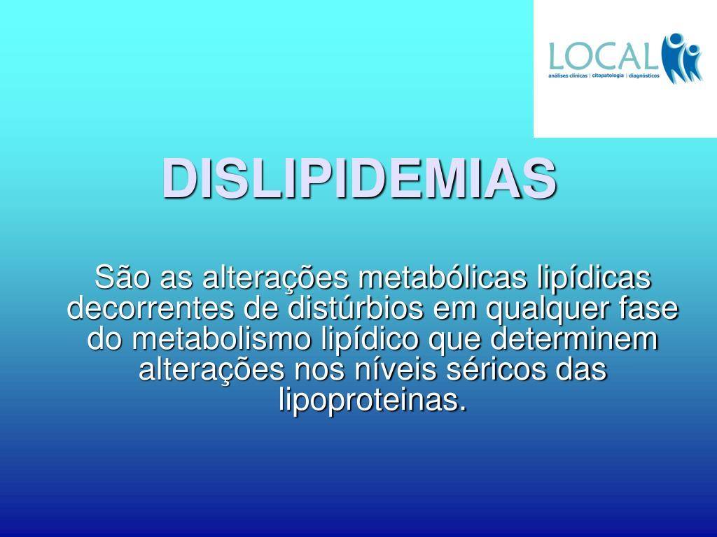 dislipidemias l.
