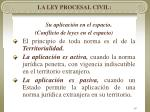 la ley procesal civil14