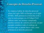 concepto de derecho procesal