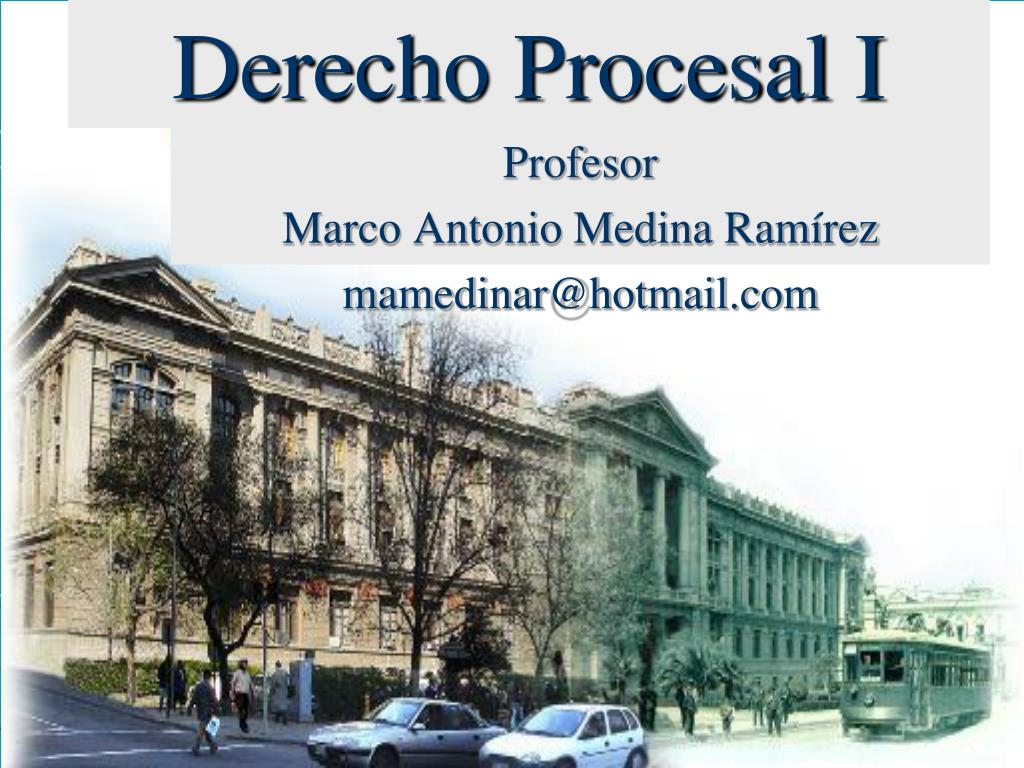 derecho procesal i l.