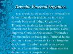 derecho procesal org nico22