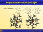 organometallic reaction steps23
