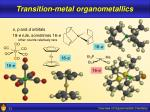 transition metal organometallics