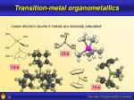 transition metal organometallics12