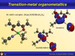 transition metal organometallics14
