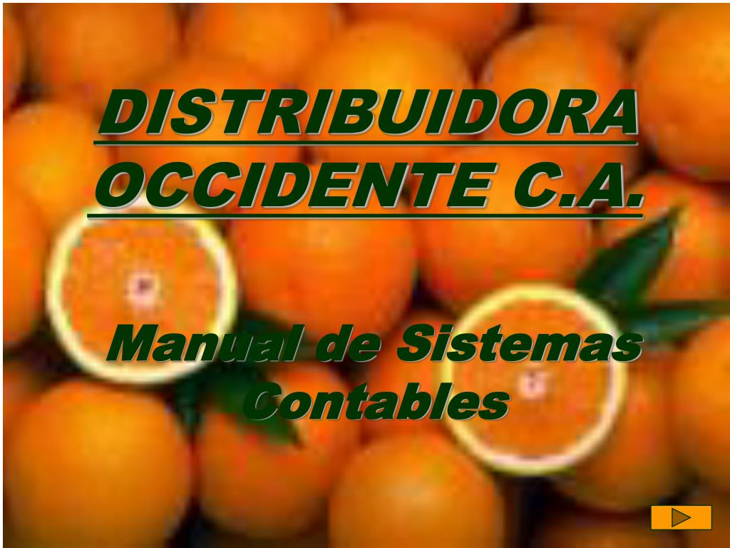 DISTRIBUIDORA OCCIDENTE C.A.