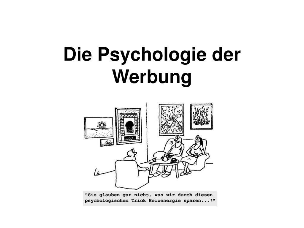 die psychologie der werbung l.