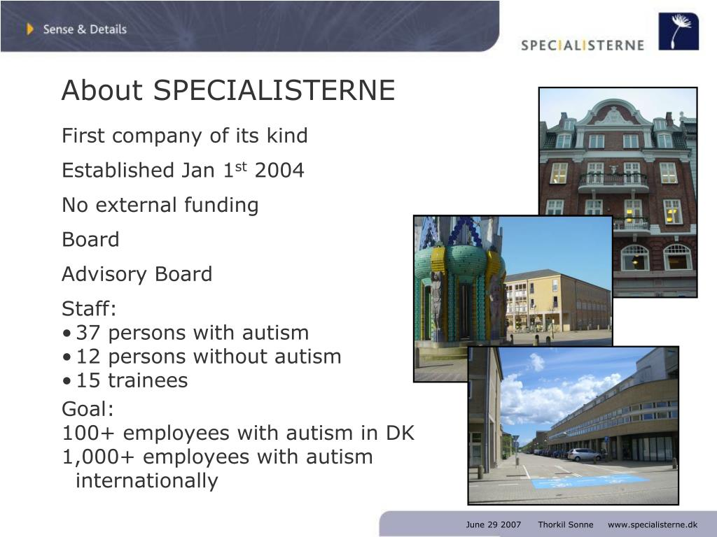 About SPECIALISTERNE