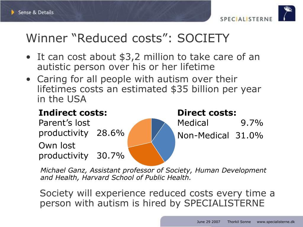 "Winner ""Reduced costs"": SOCIETY"