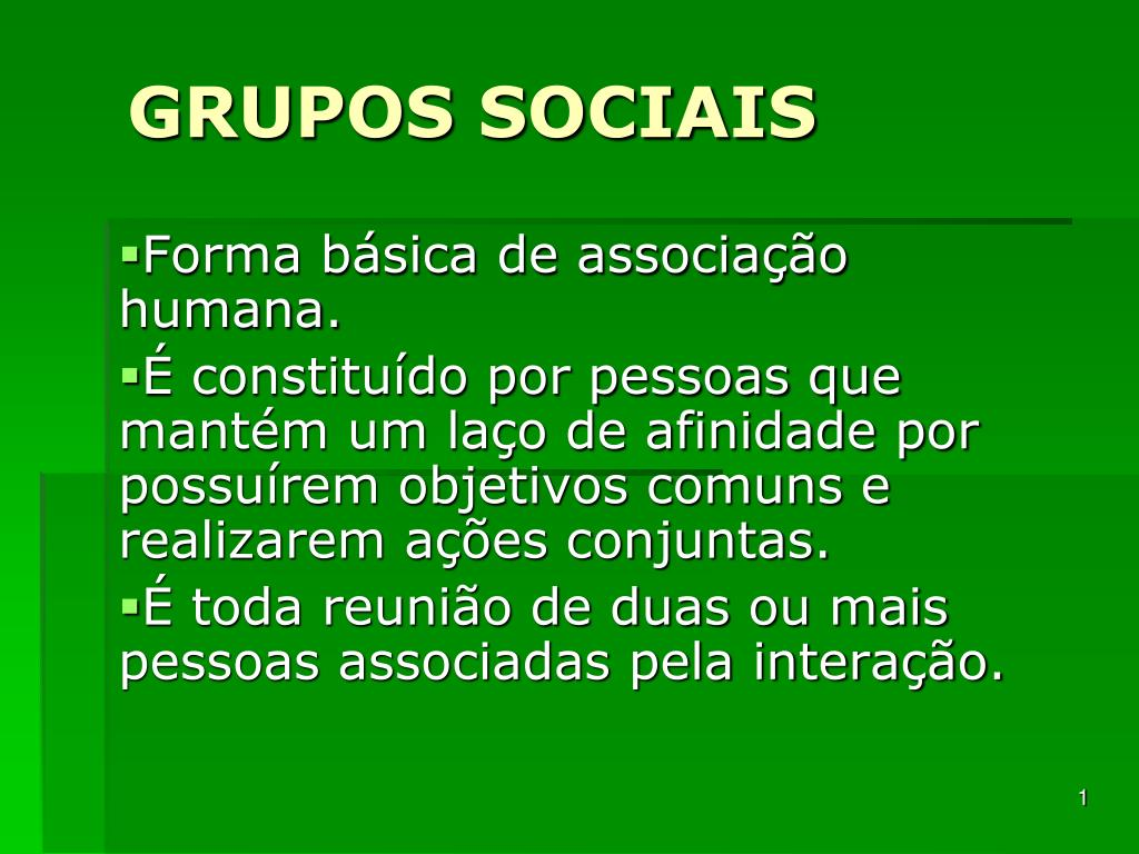 grupos sociais l.