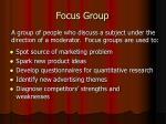 focus group13