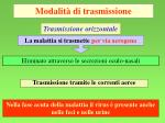 modalit di trasmissione