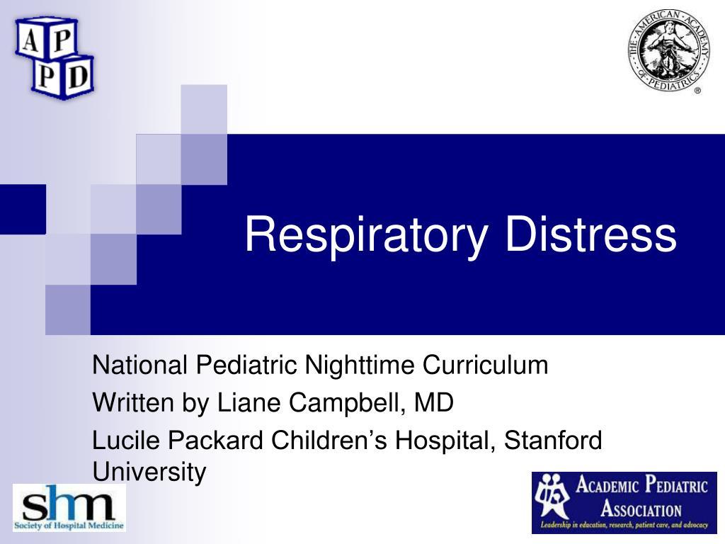 respiratory distress l.