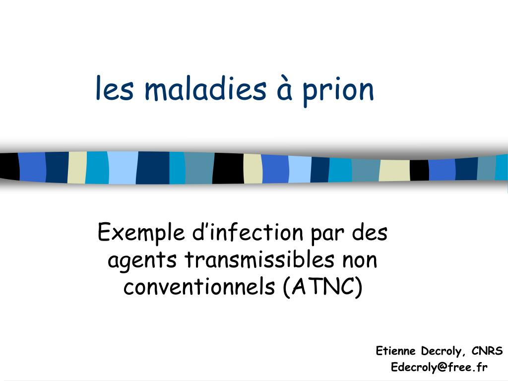 les maladies prion l.