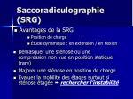 saccoradiculographie srg73
