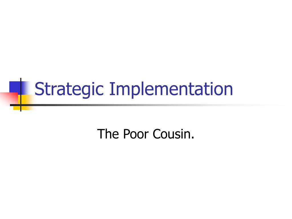 strategic implementation l.