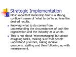 strategic implementation20
