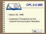 cpl 2 2 38d