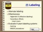 f labeling32