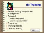 h training39