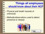 things all employees should know about their hcp41