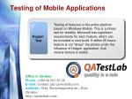 testing of mobile applications7
