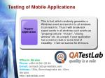 testing of mobile applications8