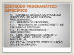 conte do program tico espec fico