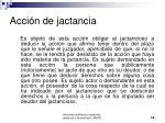 acci n de jactancia14