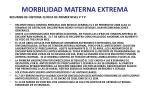 morbilidad materna extrema45