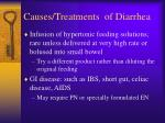 causes treatments of diarrhea64