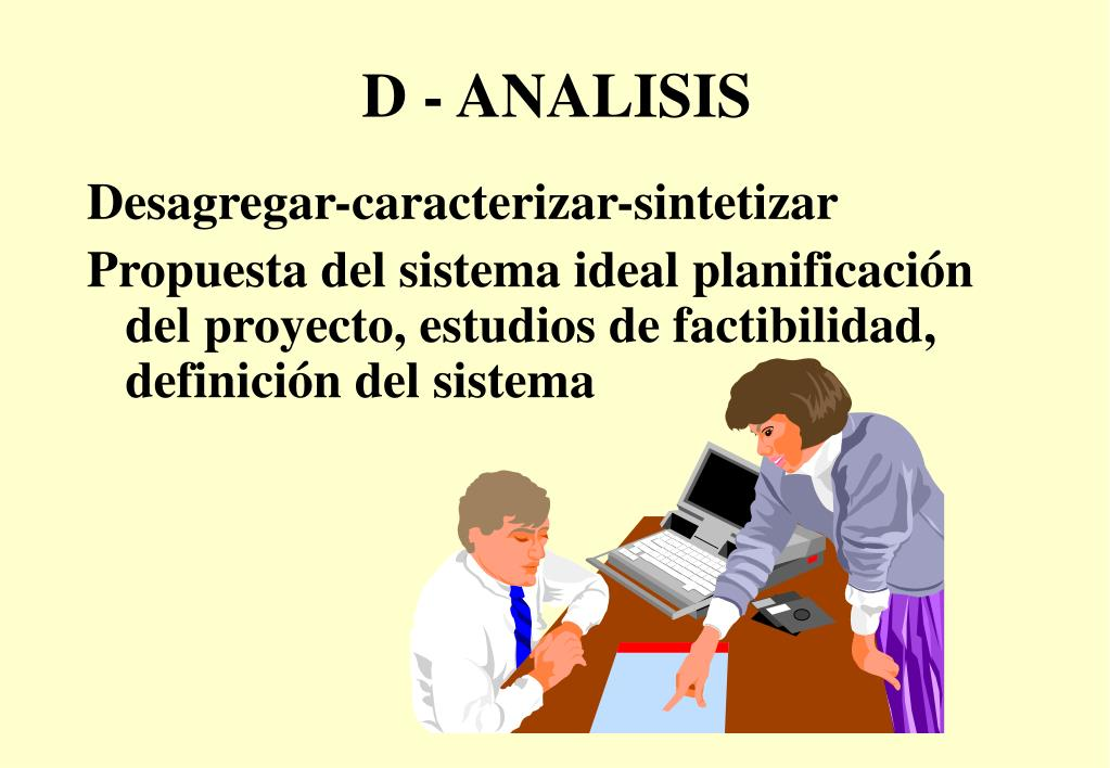 D - ANALISIS