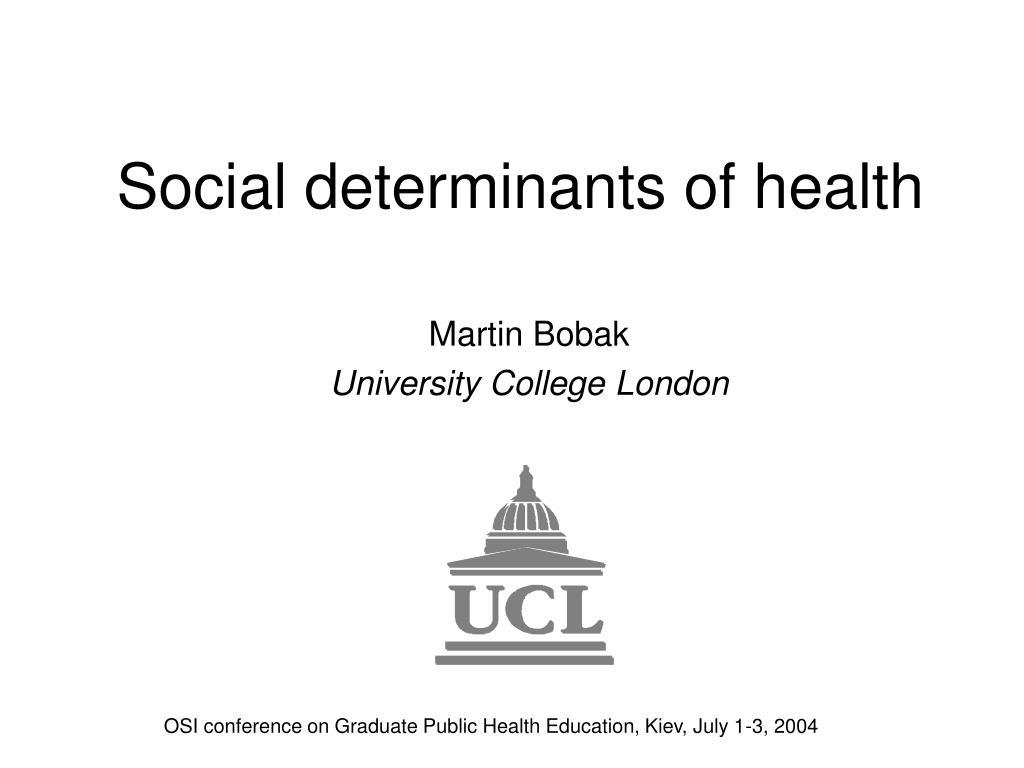 social determinants of health l.