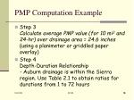 pmp computation example18