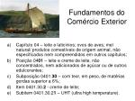 fundamentos do com rcio exterior7