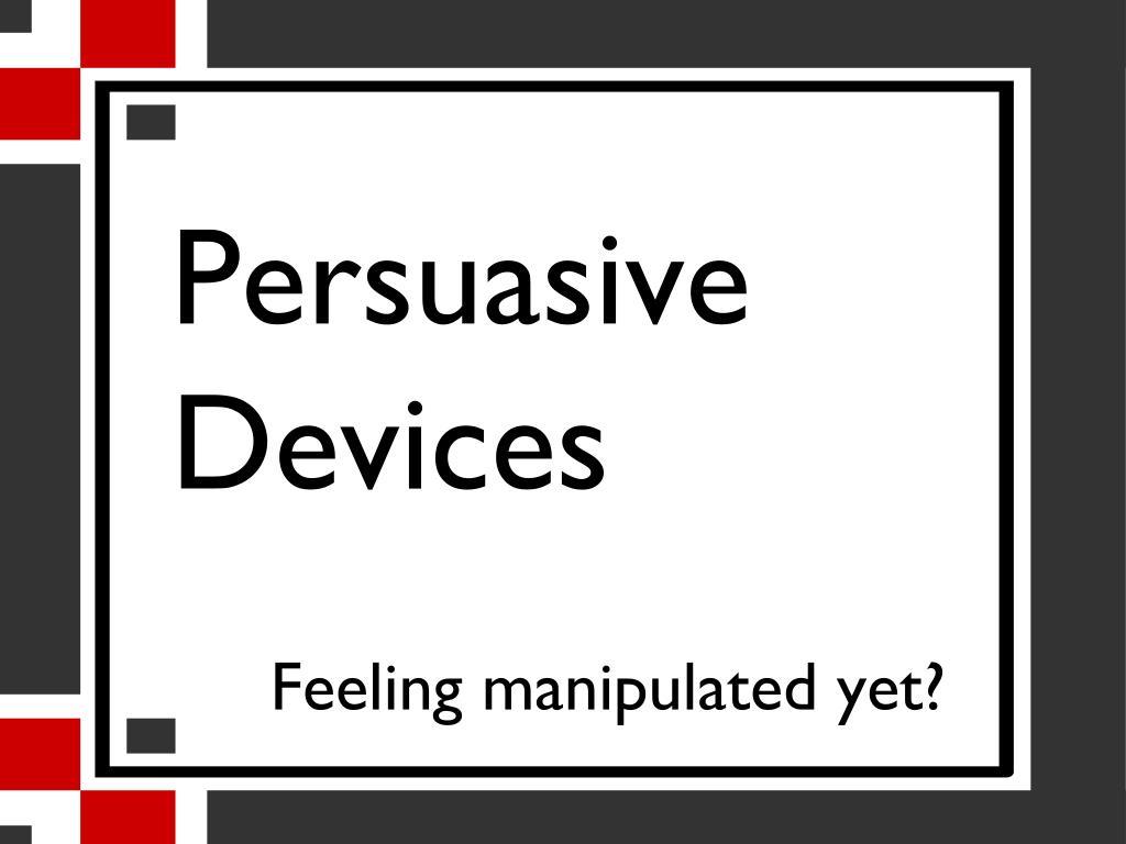 persuasive devices l.