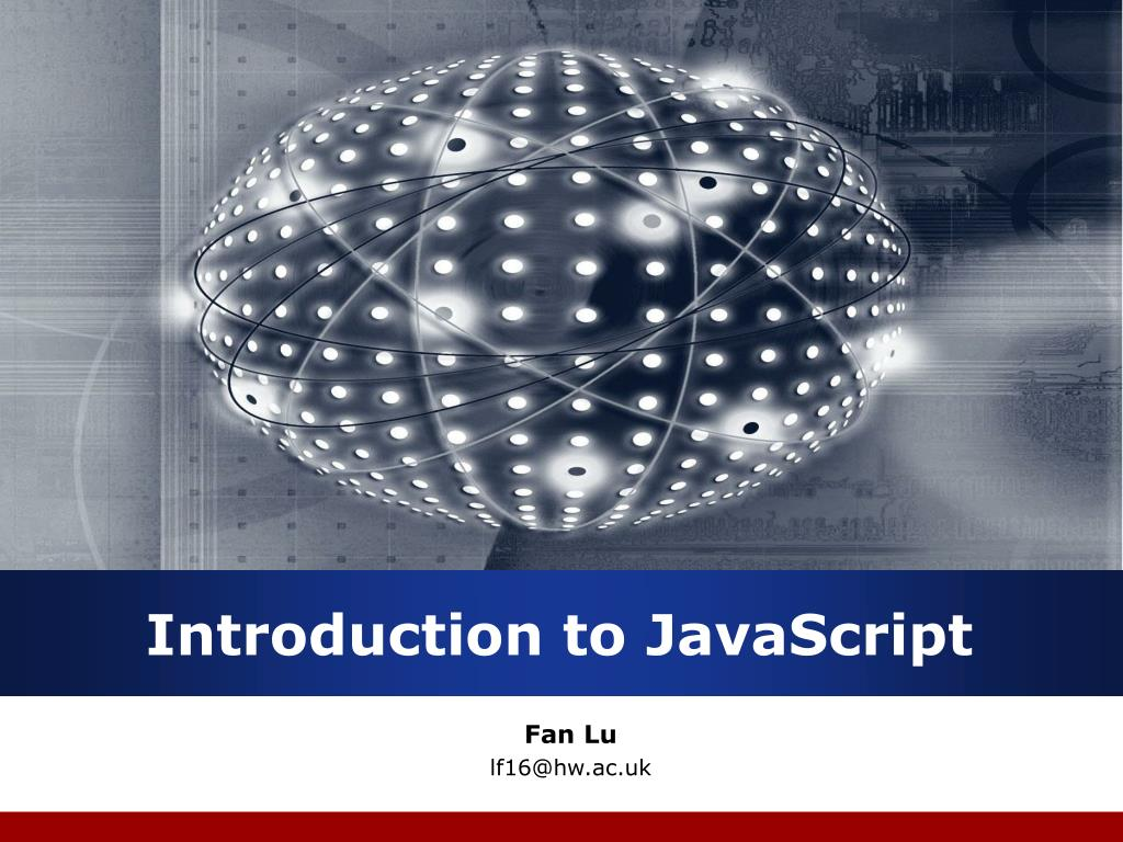 introduction to javascript l.
