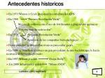 antecedentes historicos6