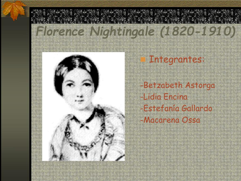 florence nightingale 1820 1910 l.