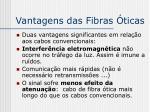 vantagens das fibras ticas