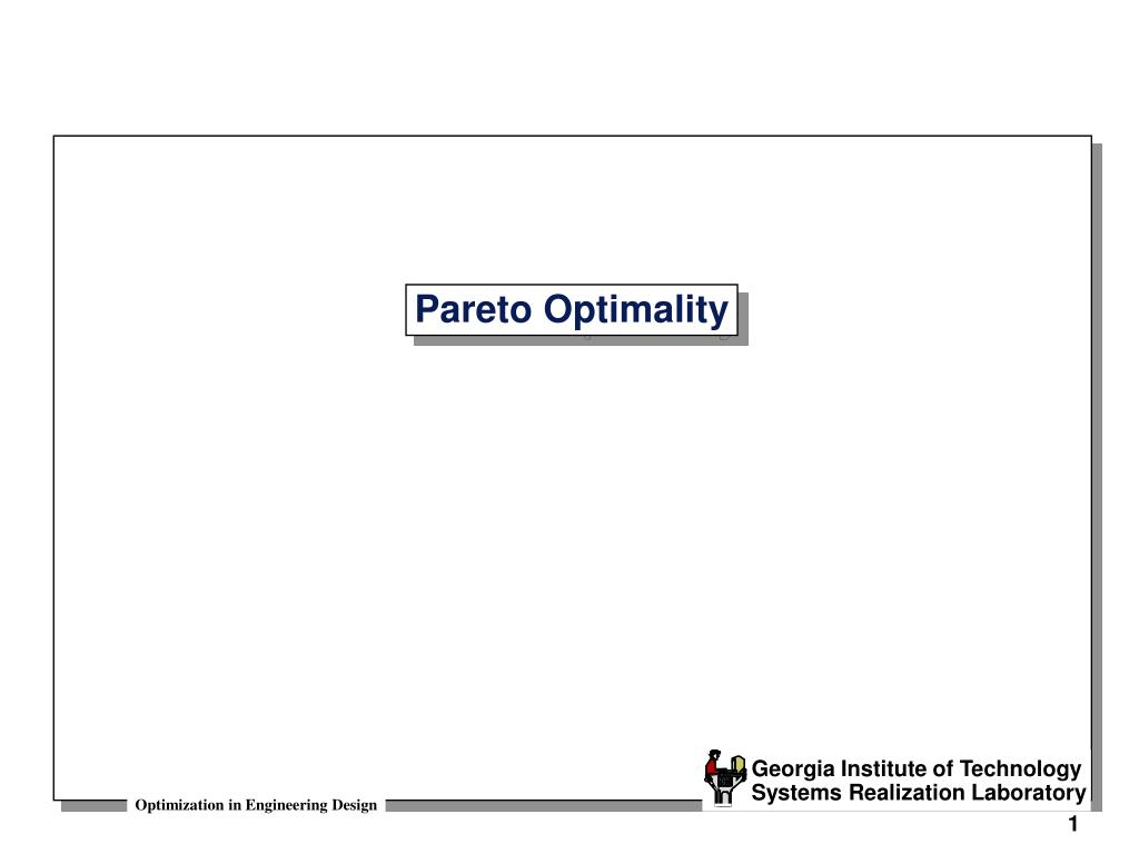pareto optimality l.