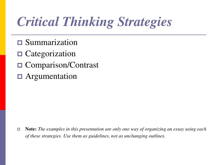 strategies for organizing an essay Developing and organizing ideas: webbing, mapping and more supporting the main idea adding details revising and editing: reorganizing ideas asking questions to revise writing  • expanded sight vocabularies for subject-specific writing • strategies to become independent writers in any context.