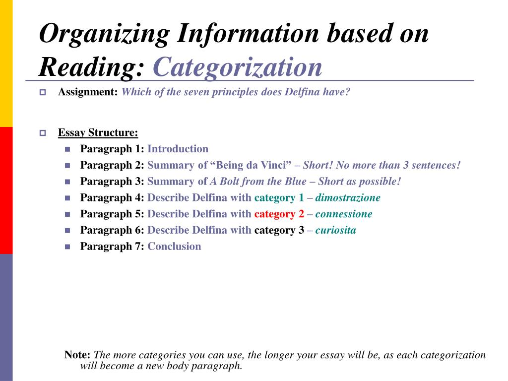 compare different possible readings essay The best thing to try and remember when starting any essay is not to panic   where you've fallen down, speak to your tutor/ lecturer if possible, and seek to  improve  an example of a closed question would be: 'compare and contrast the   look beyond these books for further reading a useful way of finding  supplementary.