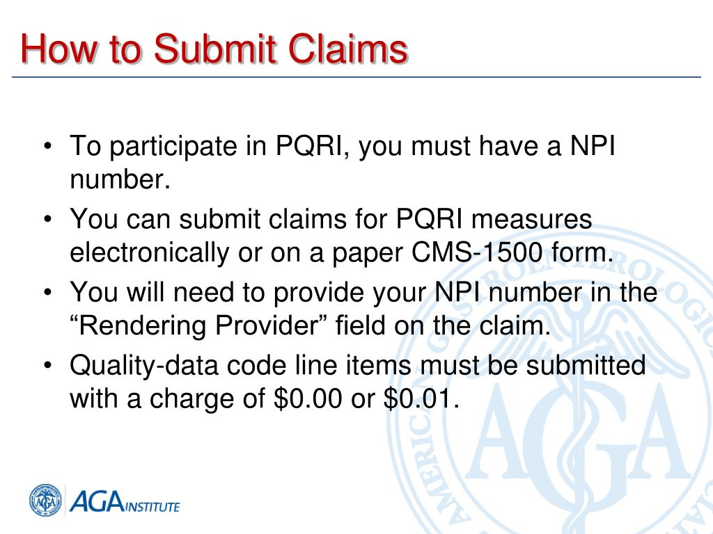 How to Submit Claims