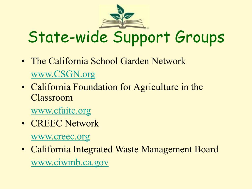 State-wide Support Groups