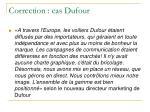 correction cas dufour13