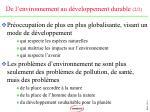 de l environnement au d veloppement durable 2 2