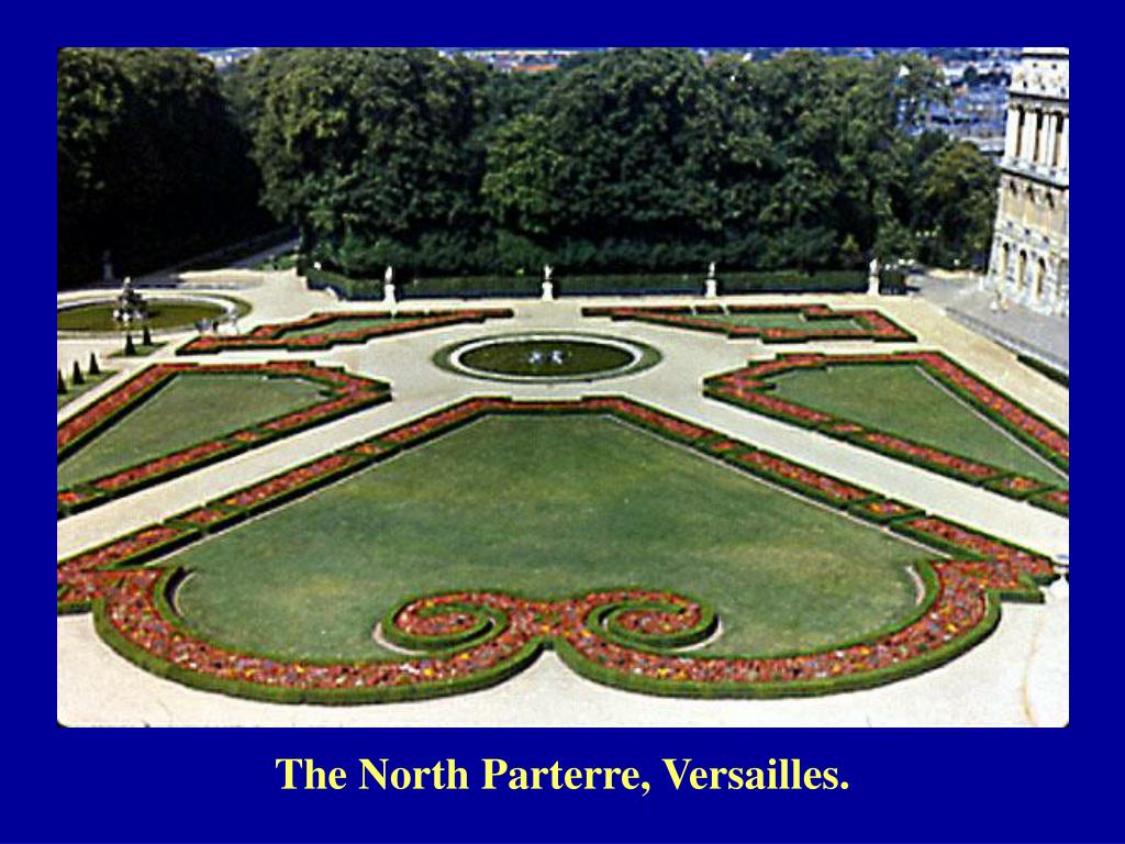 The North Parterre, Versailles.