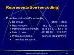 representation encoding
