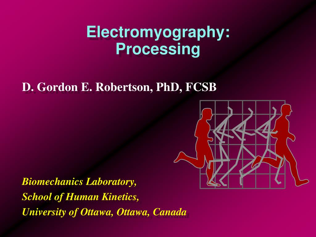 electromyography processing l.